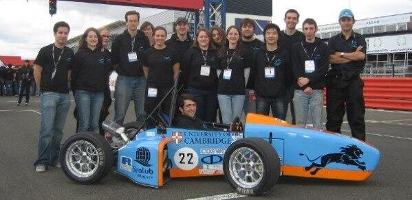 Full Blue Racing , Cambridge University.