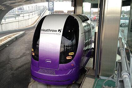 Heathrow Personal Rapid Transit Pod