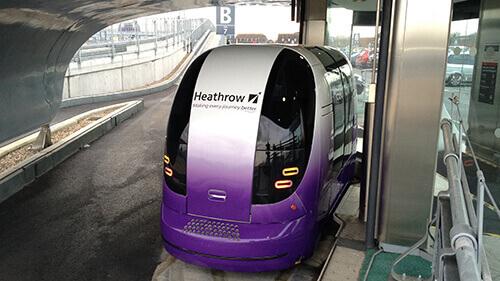 ULtra Pod Heathrow Airport