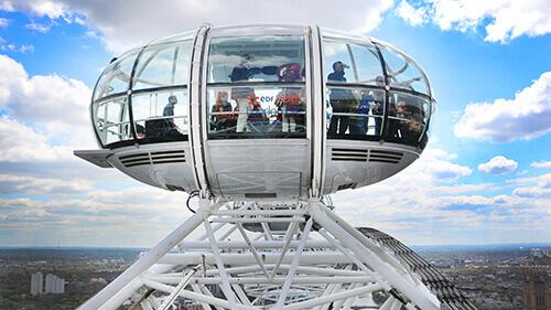 The London Eye pod