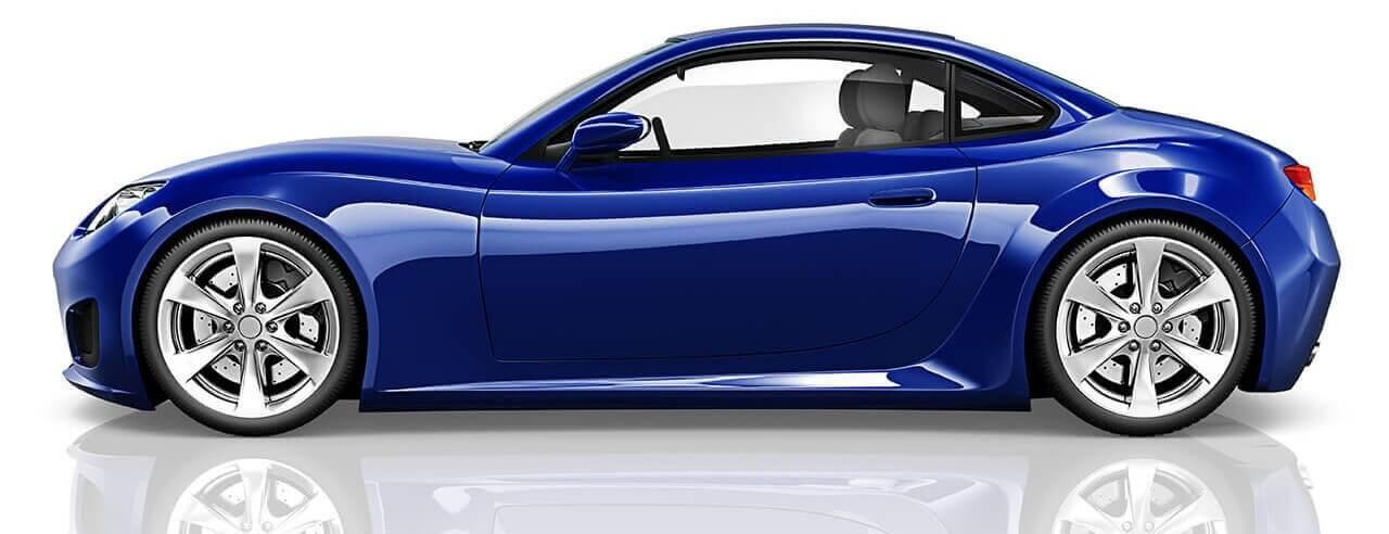 Sports Car with Corex aluminium honeycomb