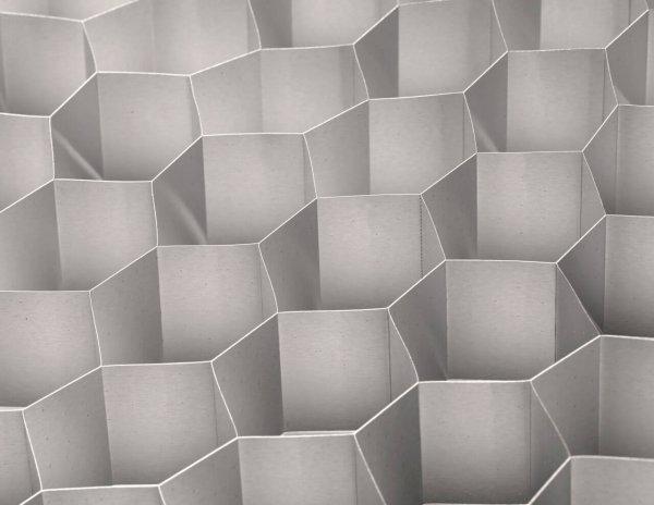 Lareg cell expanded aluminium honeycomb