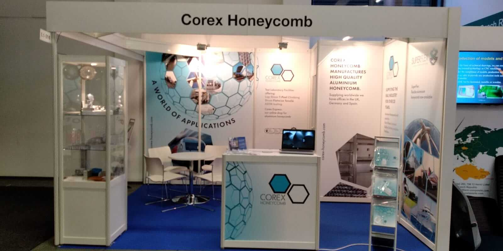 Corex Honeycomb Exhibitions 2019