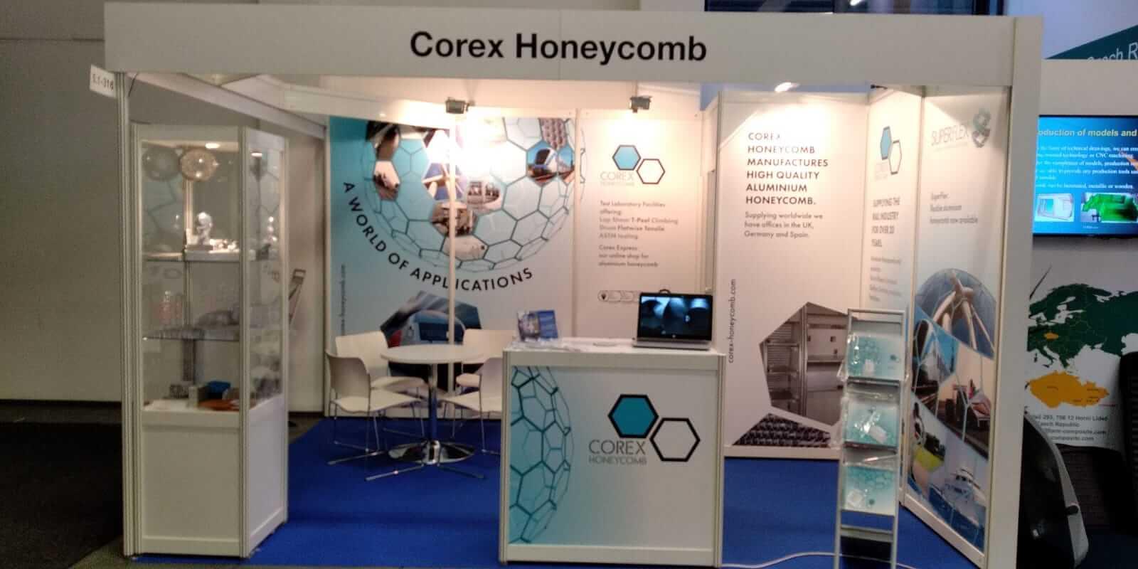 Corex Honeycomb Exhibitions 2019