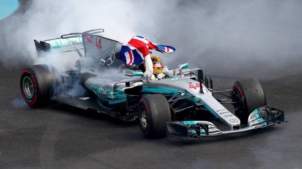 Mercedes racing team