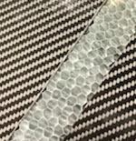 Carbon fibre & aluminium honeycomb