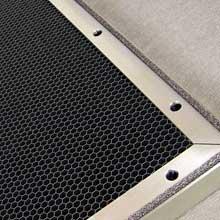 aluminium honeycomb ventilation panels