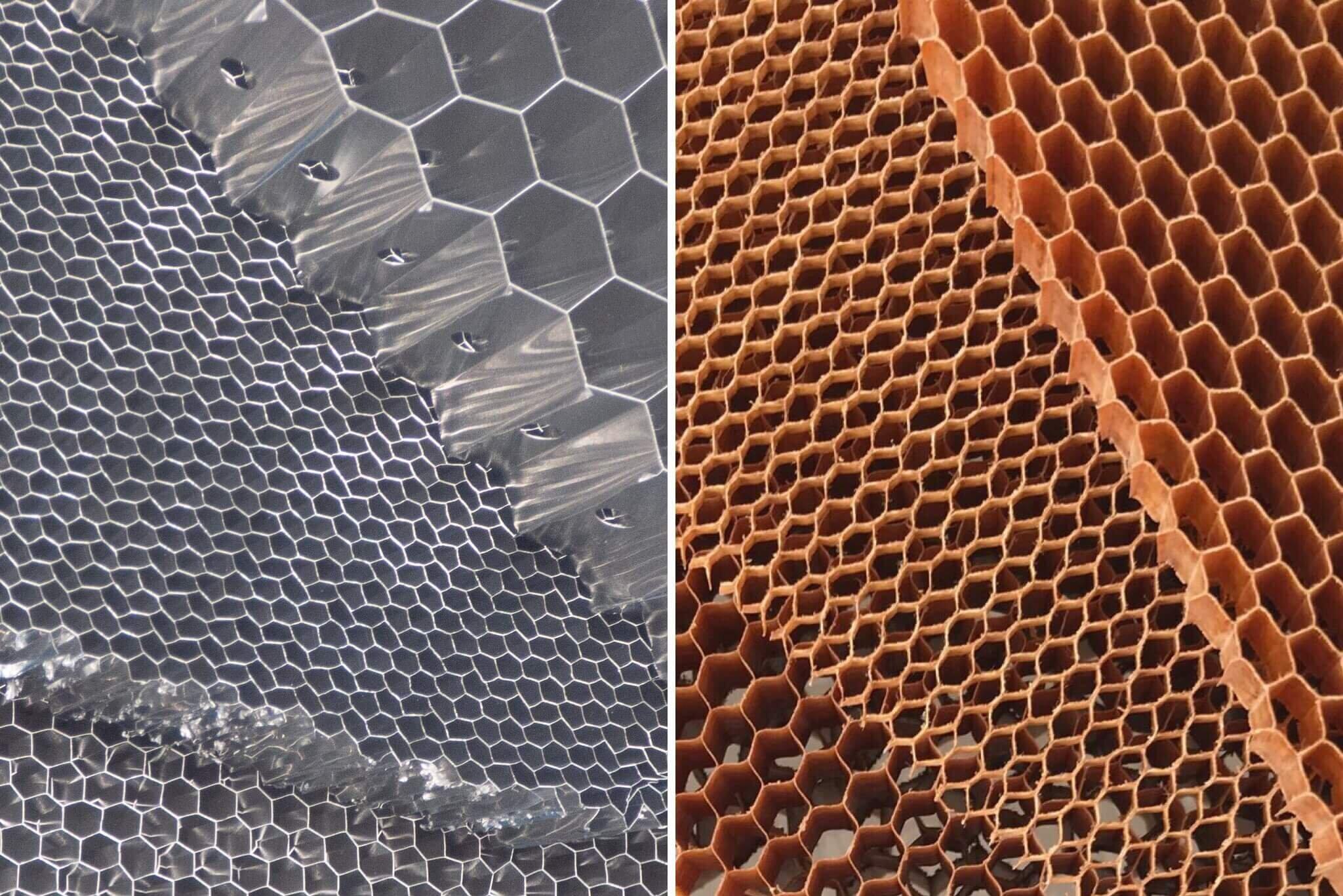 Aluminium honeycomb vs Nomex