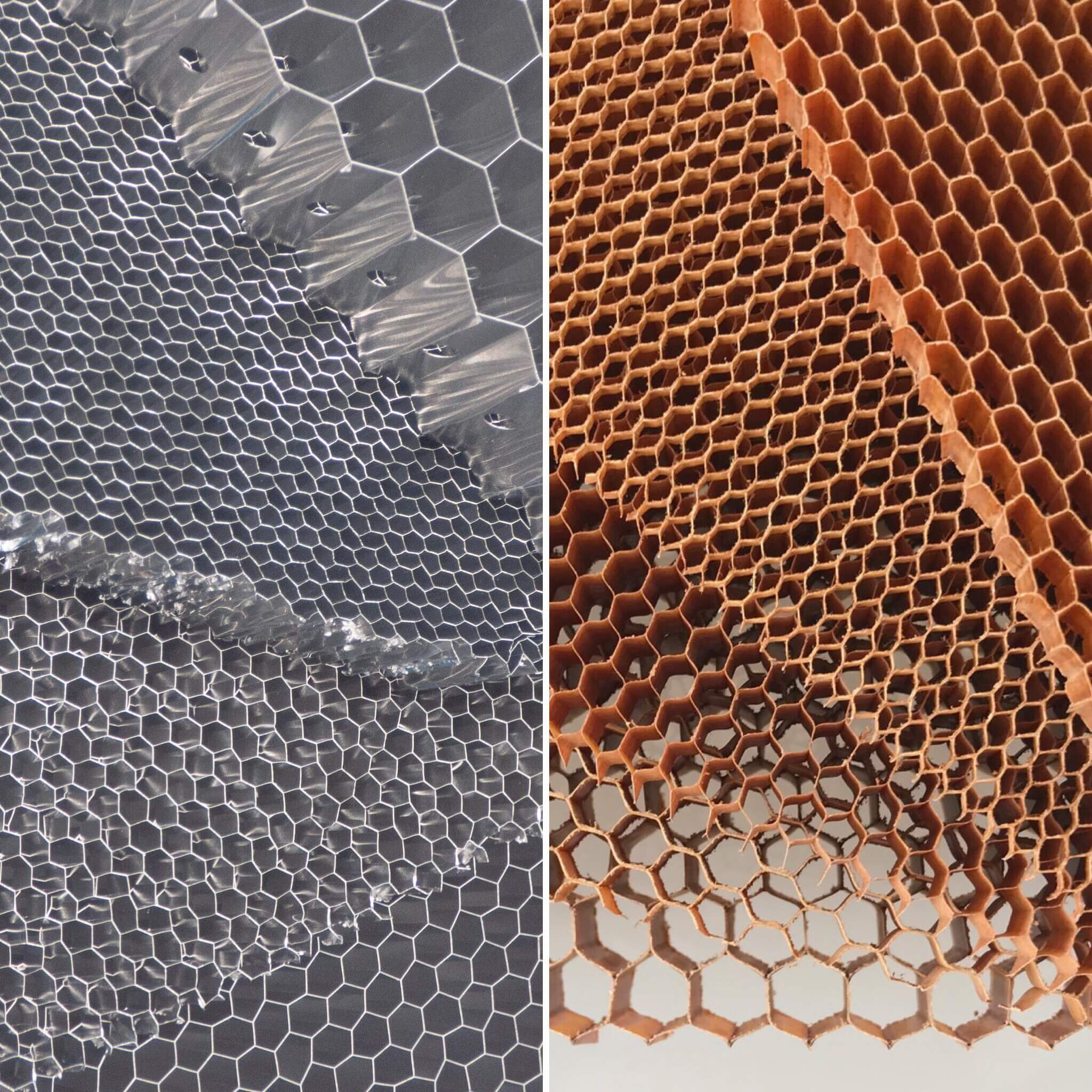 Aluminium honeycomb vs Nomex