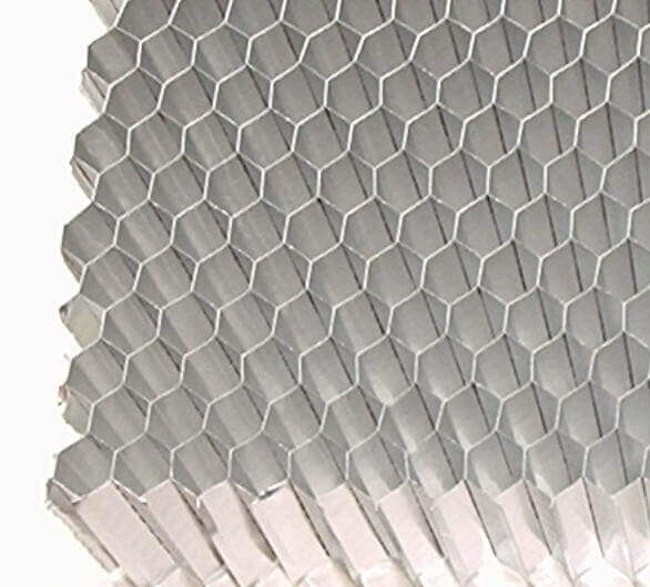 Medium aluminium honeycomb cell